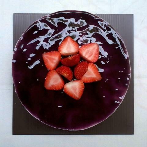 blueberry cheesecake by kayarasa