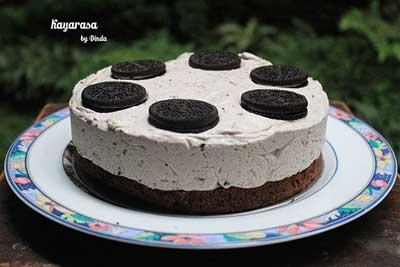 whole oreo cheesecake by kayarasa